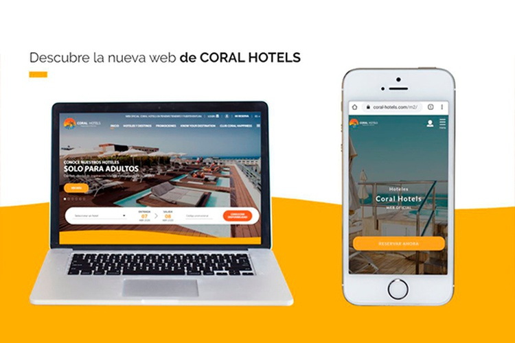Coral Hotels launches its new website Coral Hotels