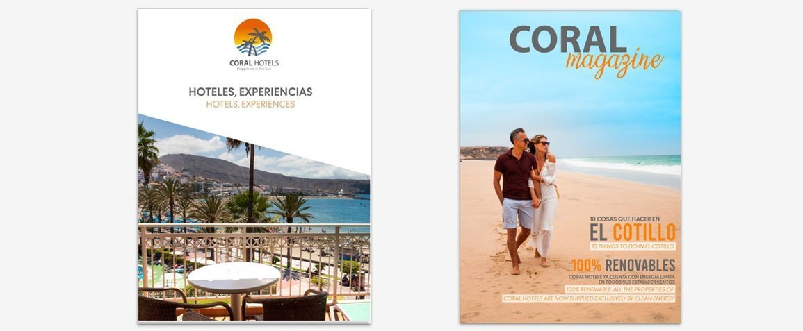 CATALOG AND MAGAZINE Coral Hotels