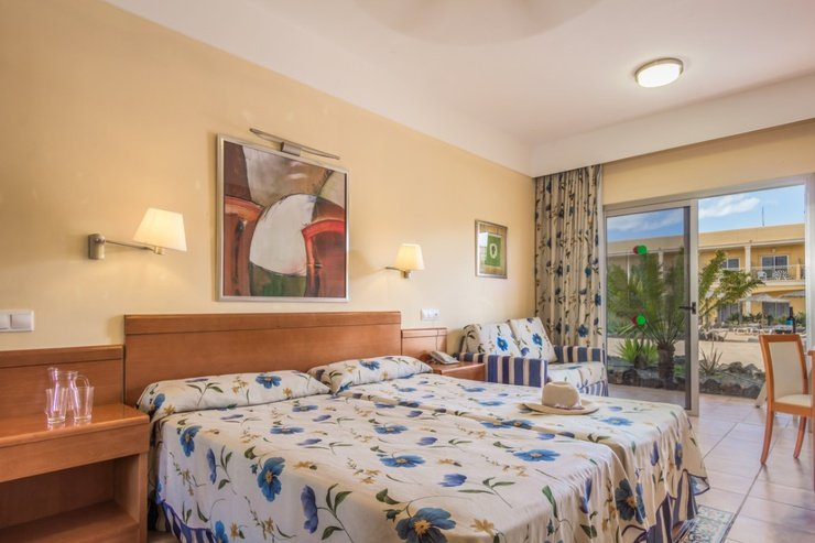 Standard double room coral cotillo beach hotel el cotillo