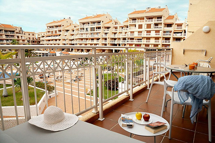 A1 apartment with pool view coral compostela beach  playa de las américas