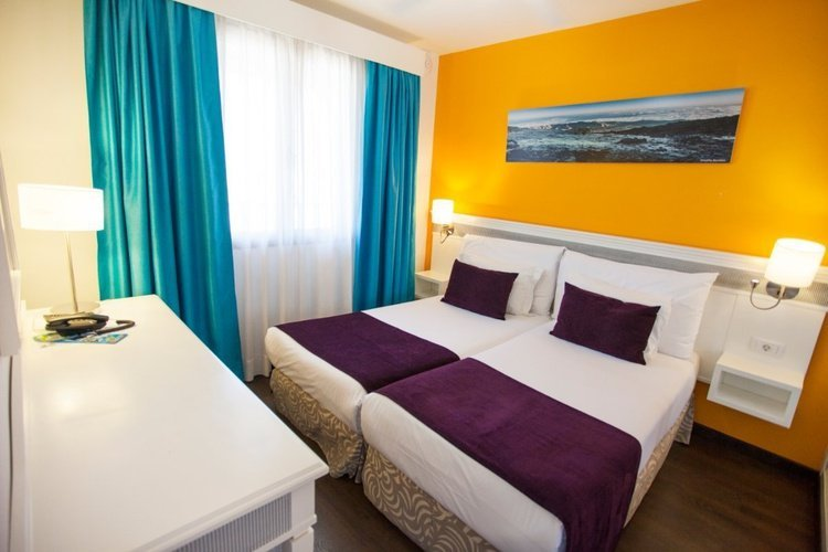 Coral classic suite of 1 room with sea view, high coral los alisios hotel los cristianos